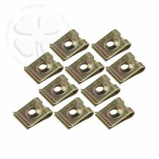 10x M5 5mm U Nut Fairing Screw Clip Extruded Steel Speed Mounting Fastener Clamp