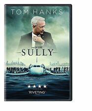 NEW - Sully (DVD 2016) Tom Hanks ACTION* SUSPENCE * DRAMA DVD SHIPS TODAY !
