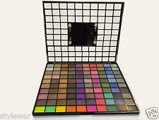 Saffron 100 Colour Shiny Eyeshadow Kit Glitter Metallic Sparkle Xmas Gift Set