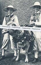 Waldshut am Hochrhein : Chilbi Bock - Umzug - um 1960 -  N 27-22