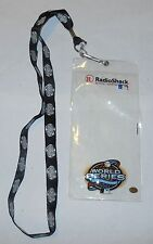 2003 MLB World Series Lanyard and Ticket Holder Marlins Yankees