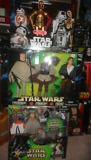 STAR WARS LOT OF 12 INCH FIGURES, ALL UNOPENED, INCLUDES DROIDS