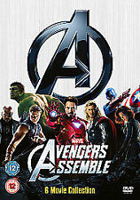MARVEL AVENGERS ASSEMBLE 6 MOVIE COLLECTION DVD BOXSET