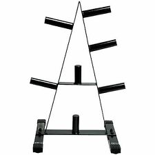 "NIB Weight Holder 2"" Plate Tree Storage Frame Stand Holder Rack Barbell Exercise"