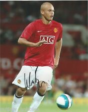 Manchester United Wes Brown Autographed Signed 8x10 Photo COA C