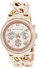Michael Kors Women's Runway MK3247 Rose-Gold Stainless-Steel Quartz Watch