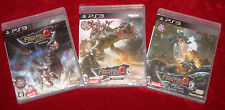 *New & Sealed* PS3 Games MONSTER HUNTER FRONTIER G7 G8 G9 Japan Region Free