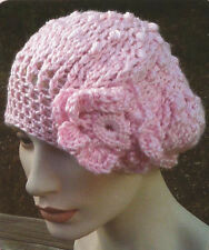Crochet Pattern ~ LADIES FITTED SLOUCH BEANIE HAT ~ Instructions