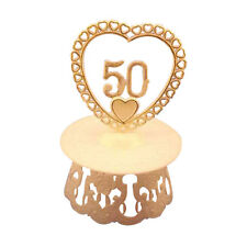 50th Anniversary Cake top stand accessories & base