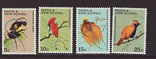 Papua New Guinea 1970 MNH - Birds - set of 4 stamps
