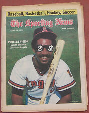 APRIL 15, 1978 SPORTING NEWS CALIFORNIA ANGELS LYMAN BOSTOCK BASEBALL