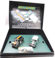 Scalextric Touring Car Legends 1964 ATCC Mini Coopers 1/32 Slot Car Set C3586A