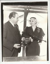 Mae West w/Tommy Gun Photo from Original Negative