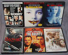 Anthony Hopkins DVD LOT: Silence of the Lambs/Bounty/Human Stain/Bobby/ & More
