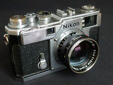 Nikon S3 35mm Rangefinder Film Camera with 50 mm lens Kit
