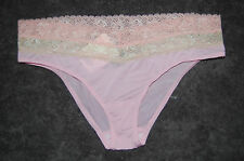 Pink Lace Trimmed Shorts Rene Rofe Size Small BNWT