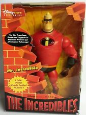 2003 Disney INCREDIBLES Talkimg Mr Incredible-UK Store Ex-Sealed-FREE S&H(M921)