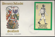 GB Locals - Bernera (1316) 1982 SCOUTS 75th Anniv £2 sheet on first day cover