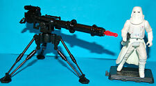 STAR WARS OTC IMPERIAL HOTH STORMTROOPER & CANNON LOOSE COMPLETE