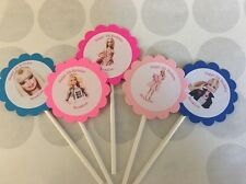 Barbie Customized Birthday Cupcake Toppers/Picks 12 count