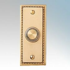 Friedland Illunminated Wired Solid Brass Door Bell Chime Push Buzzer Trendy 5776