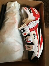 Sidi Ergo 3 Carbon Vernice White/Black/Red Size 43