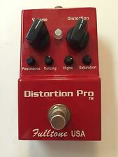 Fulltone USA DP-1 Analog Distortion Pro Overdrive Fuzz Rare Guitar Effect Pedal