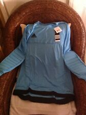 adidas Blank long sleeves goalkeeper Soccer eNTRY 15 Jersey Size L mens