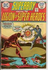 DC Comics Superboy & The Legion Of Super Heroes #201 April 1974 F