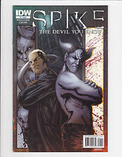 Spike The Devil You Know #1-4 Set IDW Comics