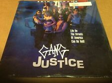 Gang Justice Laserdisc SEALED BRAND NEW