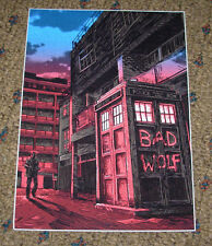 TIM DOYLE Art 5X7 Postcard DOCTOR WHO Magic Box like poster print unreal estate