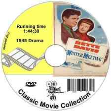 Winter Meeting - Bette Davis 1948 Drama Film on DVD buy 3 get 4 see listing