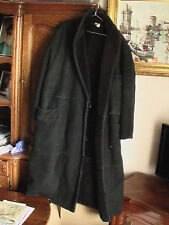 manteau cuir  ALBERTA FERRETTI MADE IN iTALY Ledermantel 42    44 Leather Coat