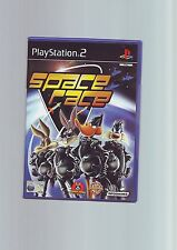 SPACE RACE - LOONEY TUNES KIDS CHILDS PS2 GAME - FAST POST - ORIGINAL & COMPLETE