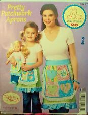 McCall Ellie Mae Design K183 Pattern UNCUT Patchwork Aprons Mother Daughter Doll
