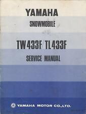 1974 YAMAHA SNOWMOBILE TW433F & TL433F SERVICE MANUAL  (816)