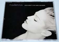 MADONNA - LOVE DON'T LIVE HERE ANYMORE - 4 TRACK MAXI CD SINGLE - REMIXES - 1996