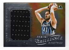 KEVIN LOVE NBA 2012-13 PANINI BRILLIANCE GAME TIME JERSEYS (TIMBERWOLVES)