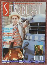 STARBURST FILM MAGAZINE - ISSUE 123 - DOCTOR WHO AND DALEKS