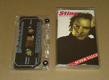 Sting Best of Live Vol. 01  Very Rare Cassette 1991