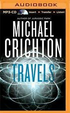 Travels by Michael Crichton (2015, MP3 CD, Unabridged)