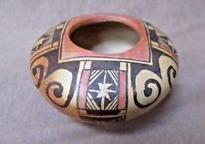 Native American Hopi Hand Coiled Eagletail Pottery by Melva Nampeyo  P0151
