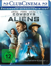 Blu-ray * COWBOYS & and ALIENS - Daniel Craig , Harrison Ford # NEU OVP +