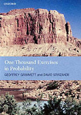 One Thousand Exercises in Probability by Geoffrey Grimmett, David Stirzaker...