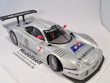 Mercedes CLK LM GT Ludwig / Zonta Maisto 1:18 Racing Modellauto in OVP
