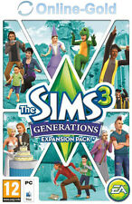 The Sims 3 - Generations Key - PC Game - EA ORIGIN Code DLC Add-on NEW [EU][UK]