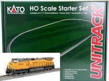 Kato HO Scale 30-2010 Union Pacific C44-9W W/ Maxi-IV 3 Unit Well Car Set
