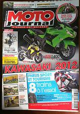 MOTO JOURNAL du 1/2011; ZZR 1400/ ER-6 n et f/ Moto Guzzi V7 Classic/ Kawa W 80