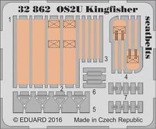 Eduard PE 32862 1/32 Vought OS2U Kingfisher seatbelts Kitty Hawk